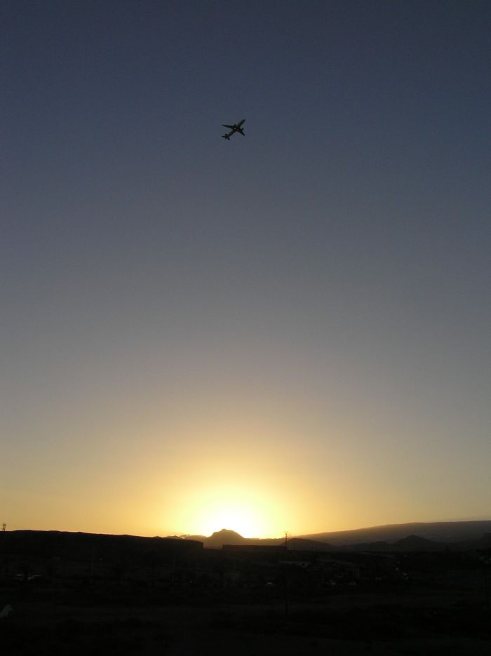 Aircraft take-off from Tenerife Sur in Kalima - photo by JazzRoc