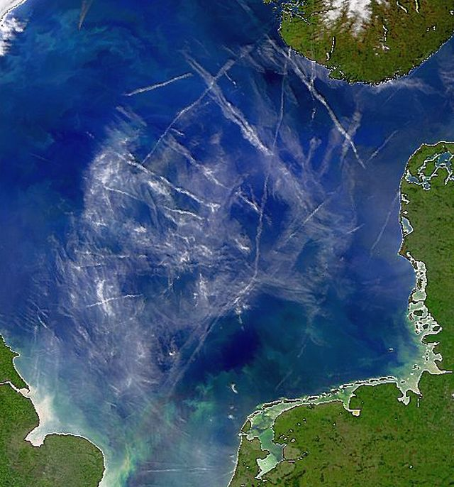 The North Sea, 15 May 1998